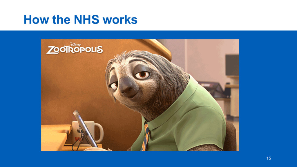 How  the  NHS  works 15