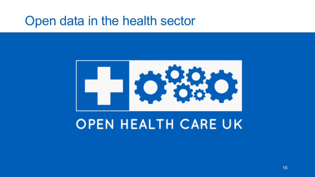 Open  data  in  the  health  sector 16