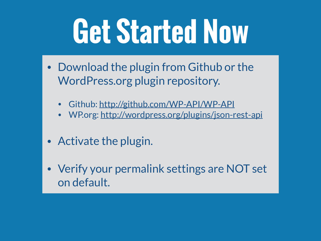• Download the plugin from Github or the WordPr...