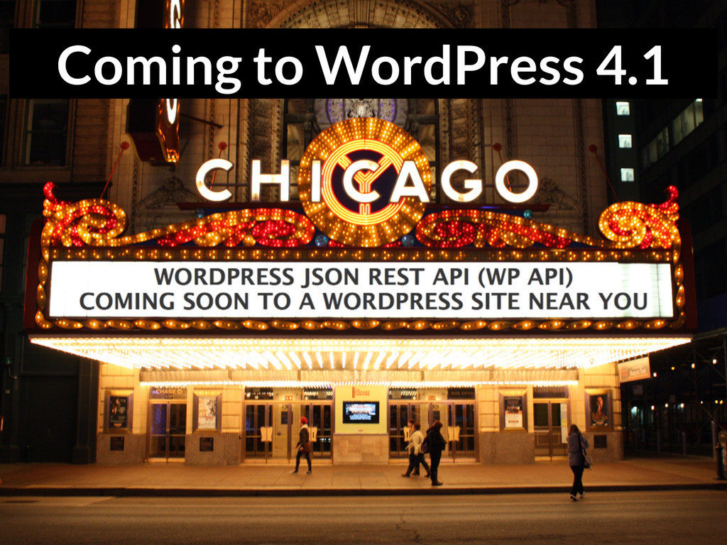 Coming to WordPress 4.1