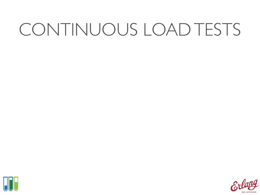 CONTINUOUS LOAD TESTS