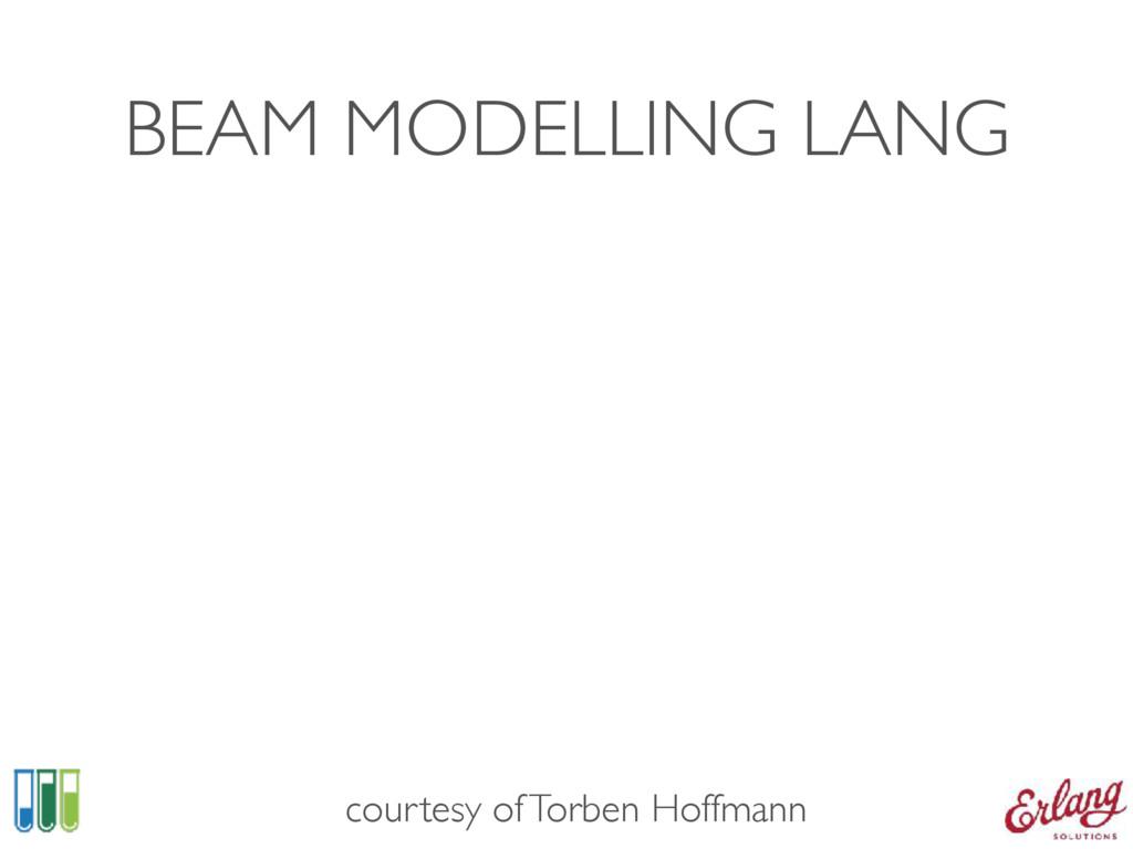 BEAM MODELLING LANG courtesy of Torben Hoffmann