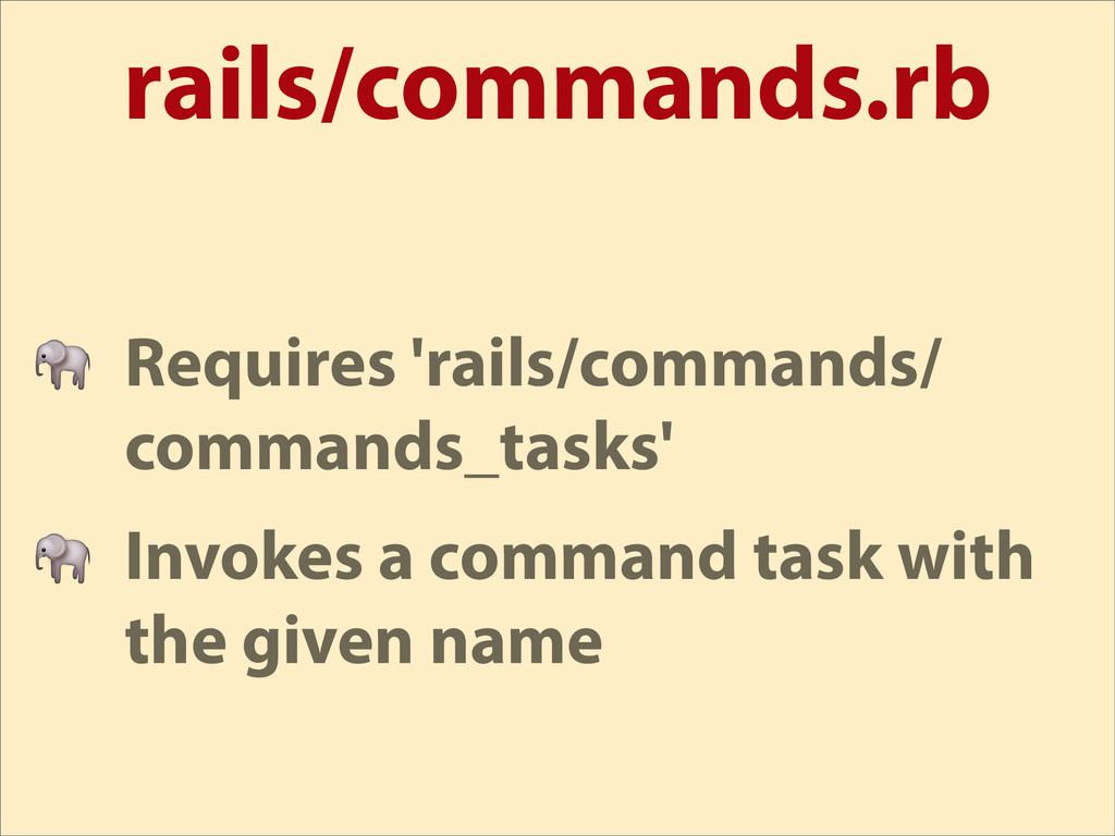 rails/commands.rb  Requires 'rails/commands/ co...