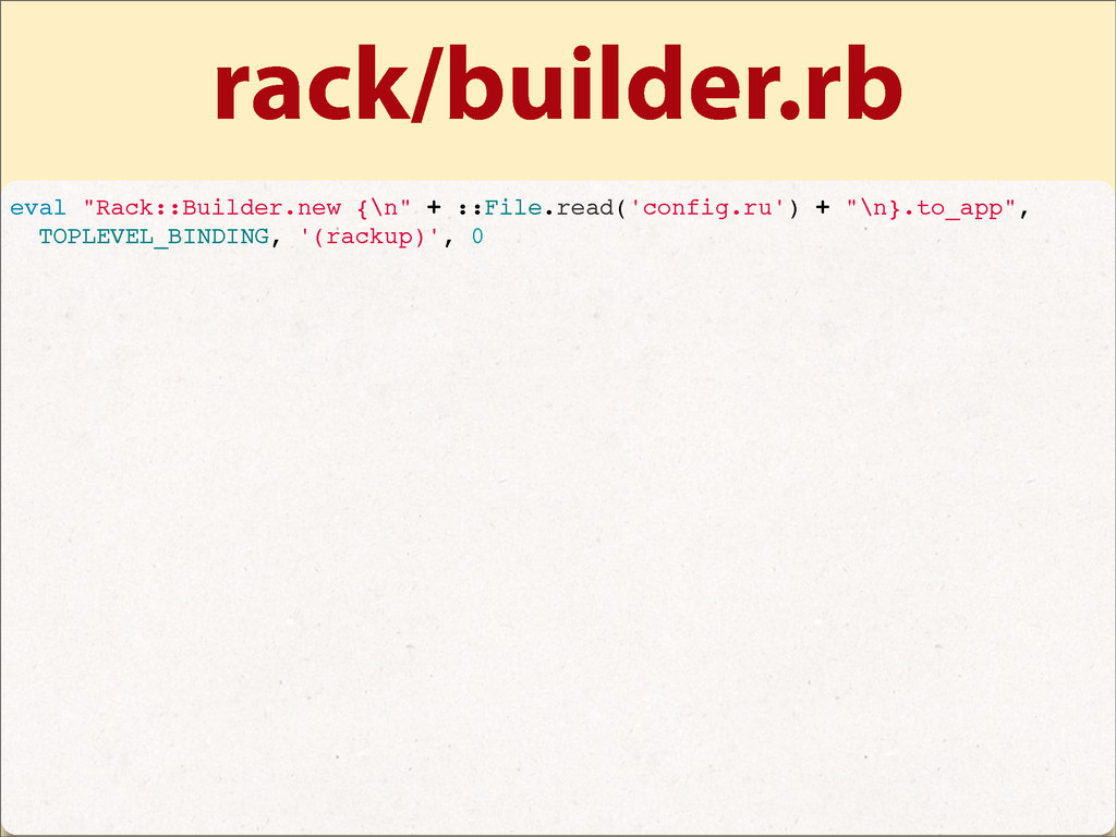 "rack/builder.rb eval ""Rack::Builder.new {\n"" + ..."