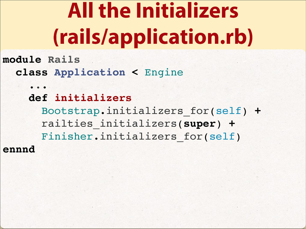 All the Initializers (rails/application.rb) mod...