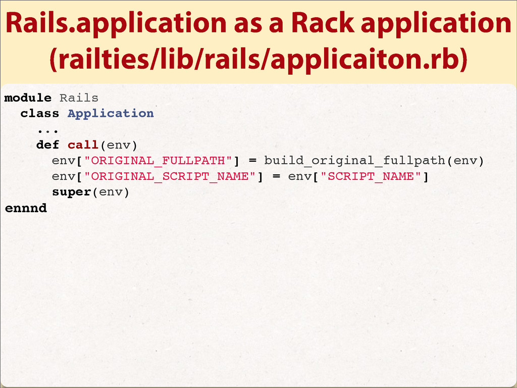 Rails.application as a Rack application (railti...