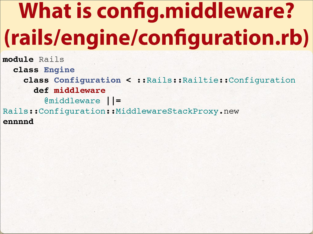 What is con g.middleware? (rails/engine/con gur...