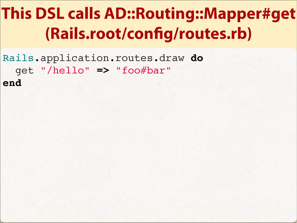 This DSL calls AD::Routing::Mapper#get (Rails.r...