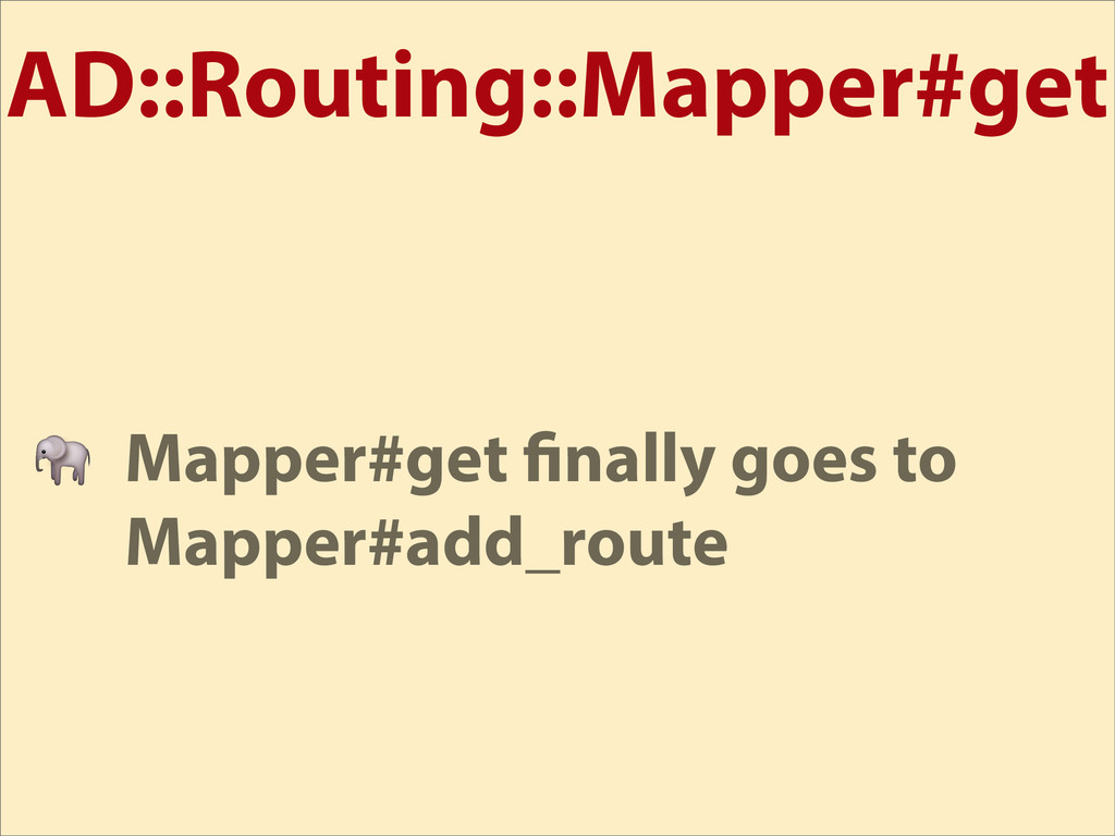 AD::Routing::Mapper#get  Mapper#get nally goes ...