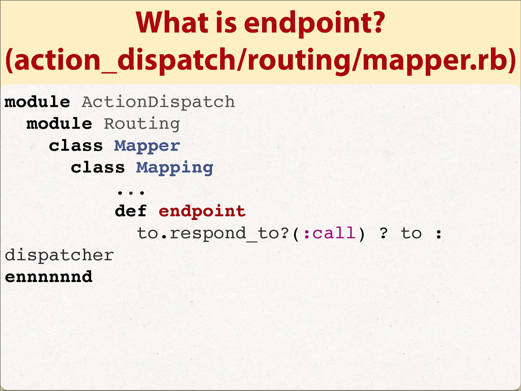 What is endpoint? (action_dispatch/routing/mapp...