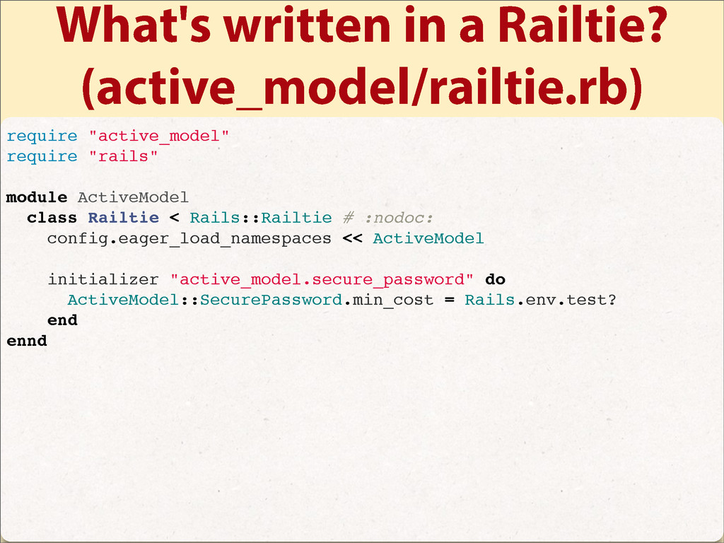 What's written in a Railtie? (active_model/rail...