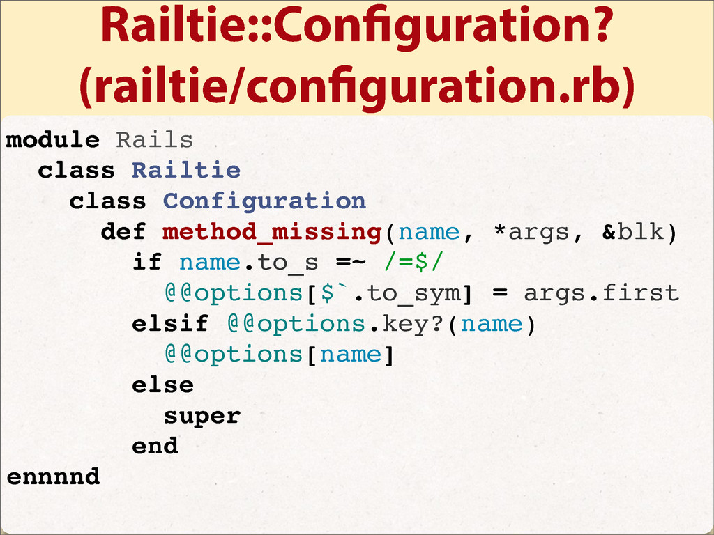 Railtie::Con guration? (railtie/con guration.rb...