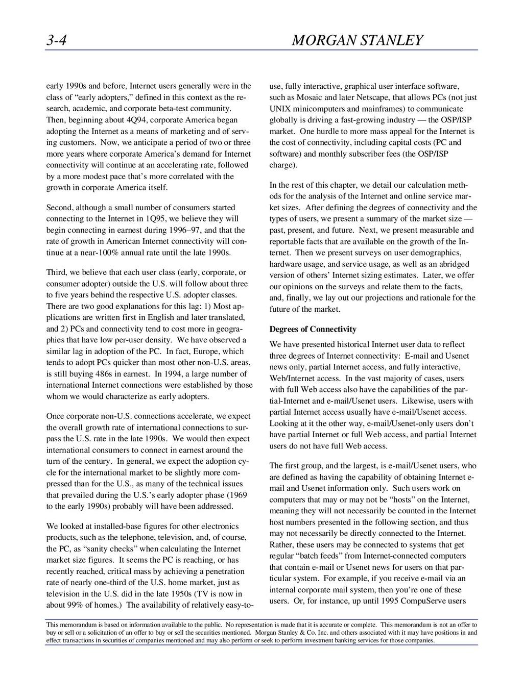 3-4 MORGAN STANLEY This memorandum is based on ...