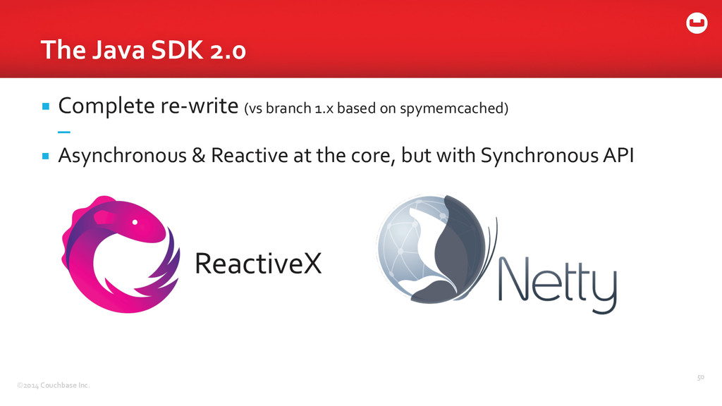 ©2014 Couchbase Inc. The Java SDK...