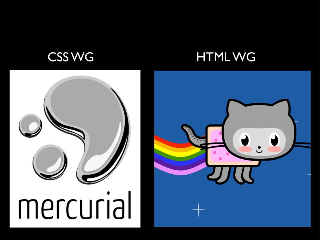 CSS WG HTML WG
