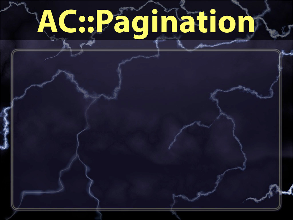 AC::Pagination