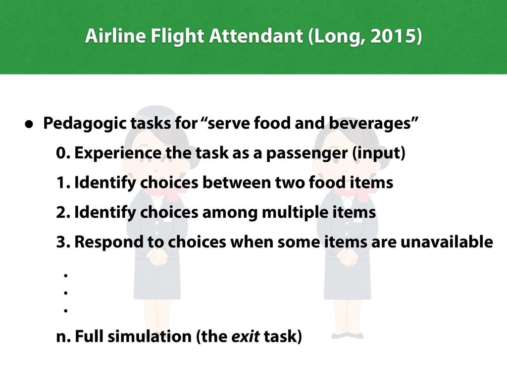 Airline Flight Attendant (Long, 2015) • Pedagog...