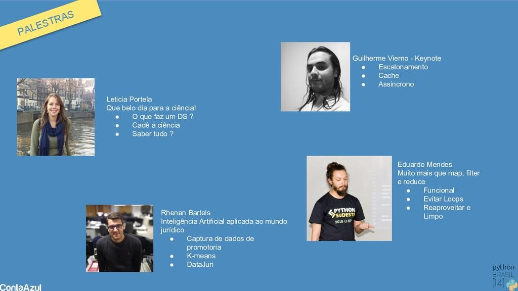 Guilherme Vierno - Keynote ● Escalonamento ● Ca...