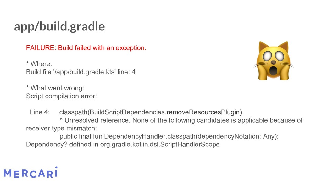 app/build.gradle FAILURE: Build failed with an ...