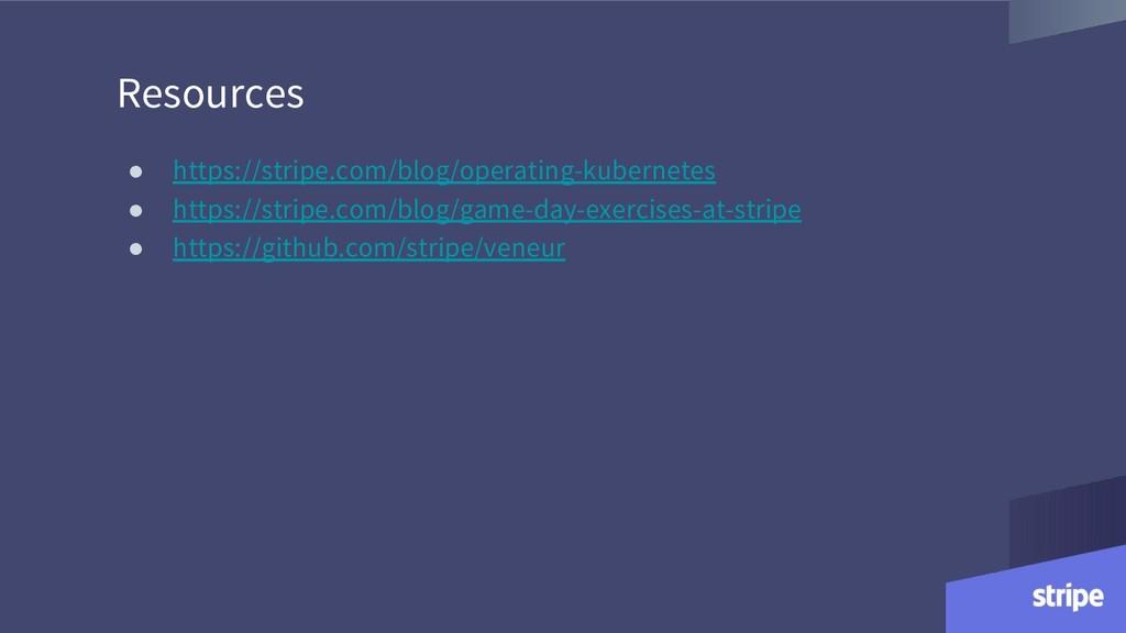 Resources ● https://stripe.com/blog/operating-k...
