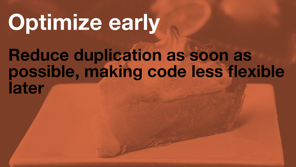 Optimize early Reduce duplication as soon as po...