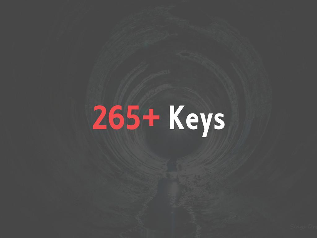 265+ Keys