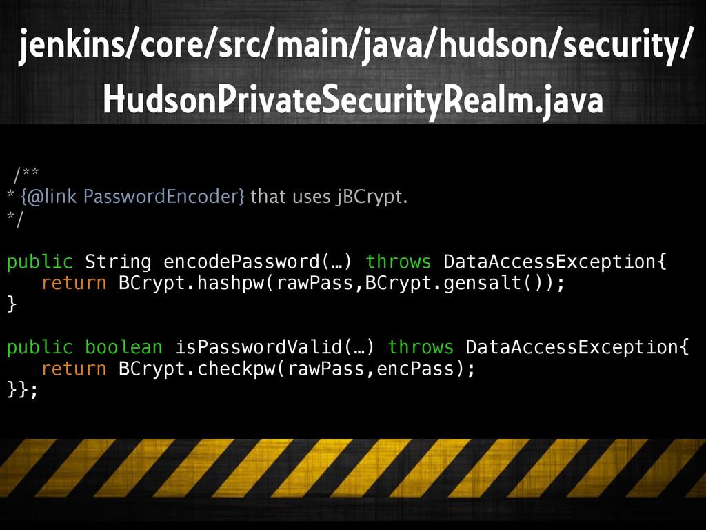 jenkins/core/src/main/java/hudson/security/ Hud...