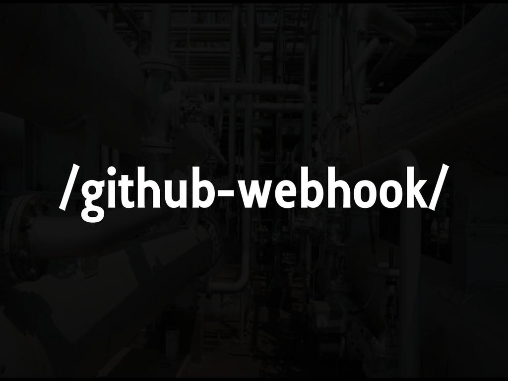 /github-webhook/