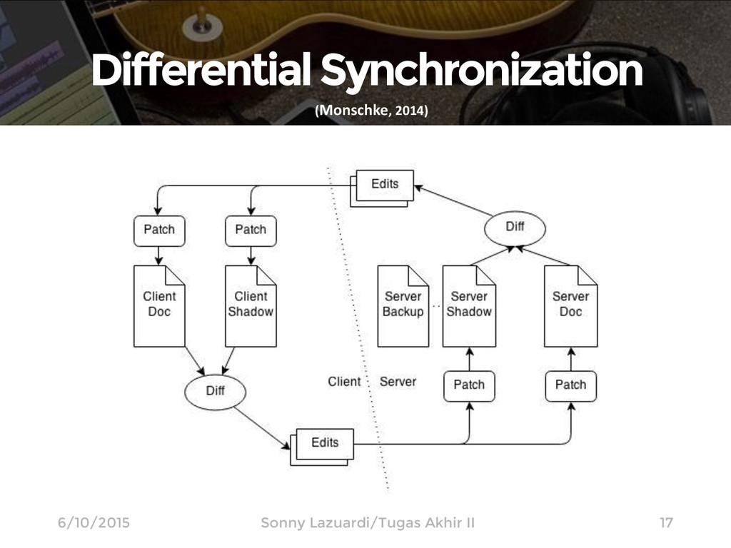 Differential Synchronization 17 (Monschke, 2014...