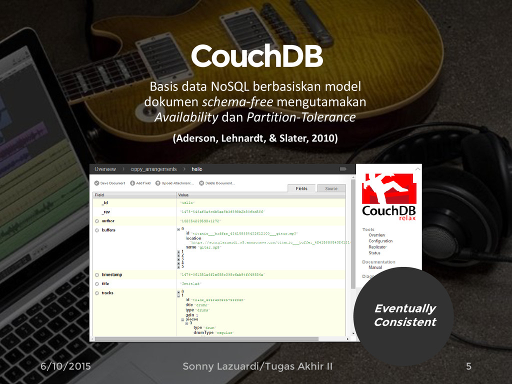 CouchDB Basis data NoSQL berbasiskan model doku...