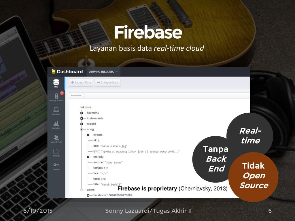 Firebase Layanan basis data real-time cloud 6 T...