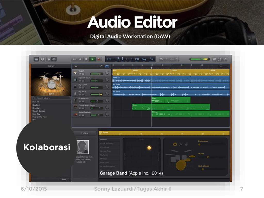 Audio Editor Digital Audio Workstation (DAW) Ga...