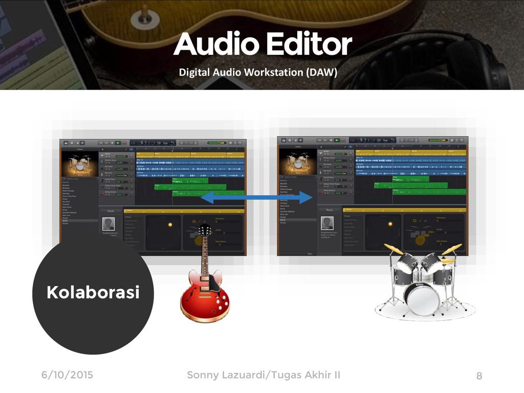 (Apple Inc., 2014) 8 Audio Editor Digital Audio...