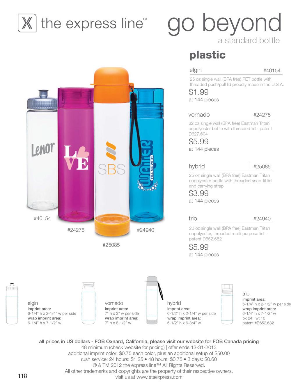 go beyond a standard bottle plastic #24278 #249...