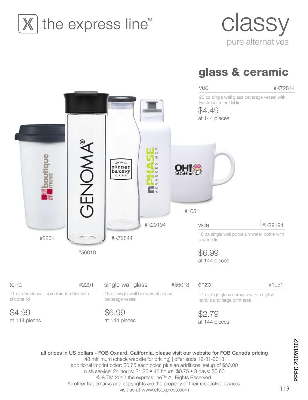 classy pure alternatives glass & ceramic #K2919...