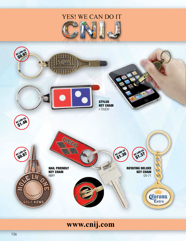 www.cnij.com STYLUS KEY CHAIN I-TOUCH NAIL FRIE...