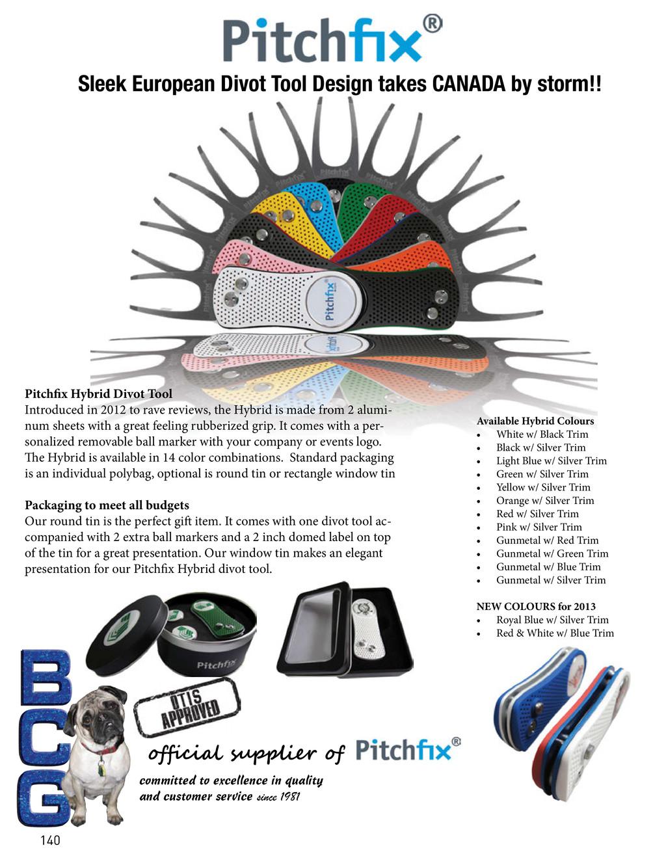 official supplier of Pitchfix Hybrid Divot Tool...