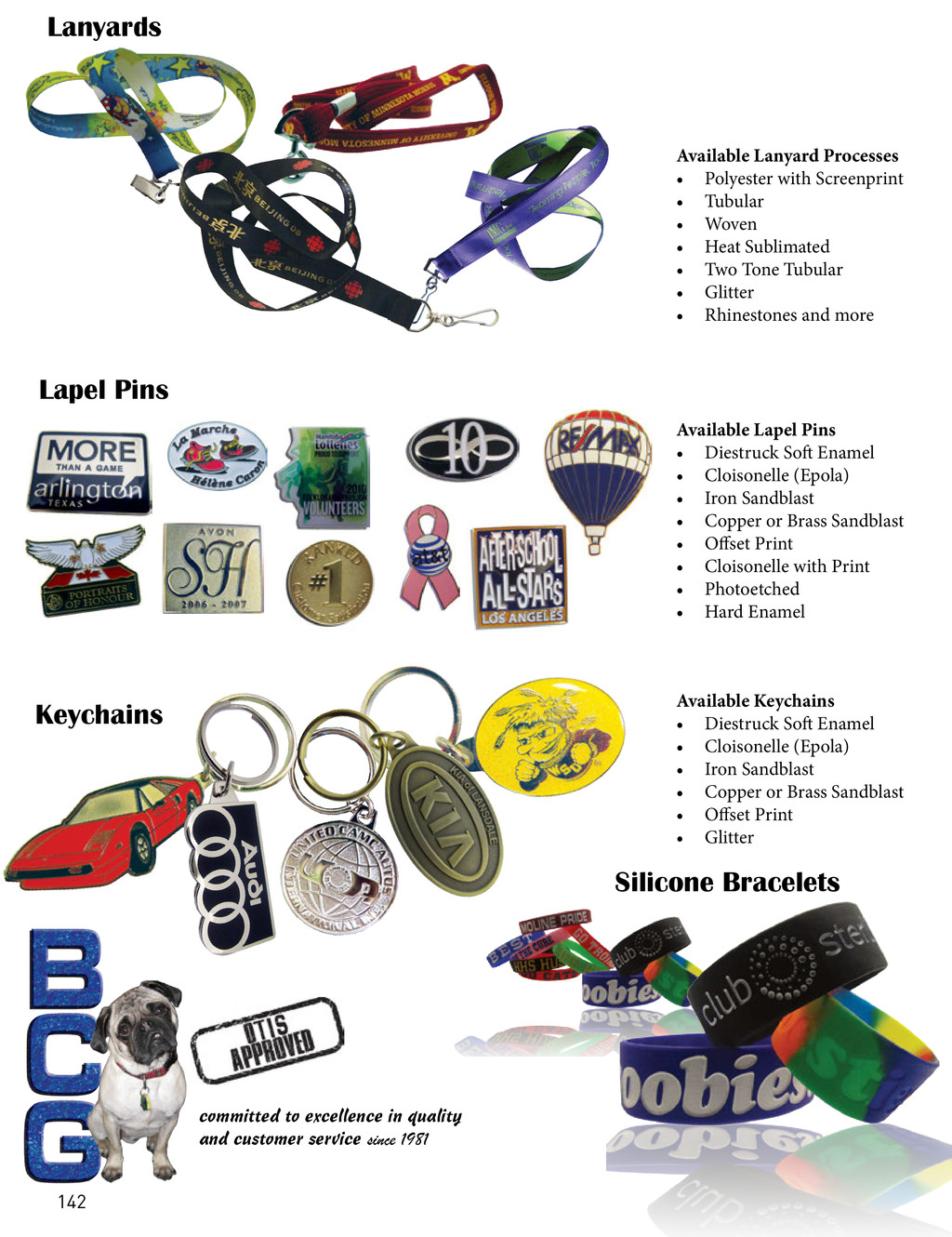 Lanyards committed to excellence in quality and...