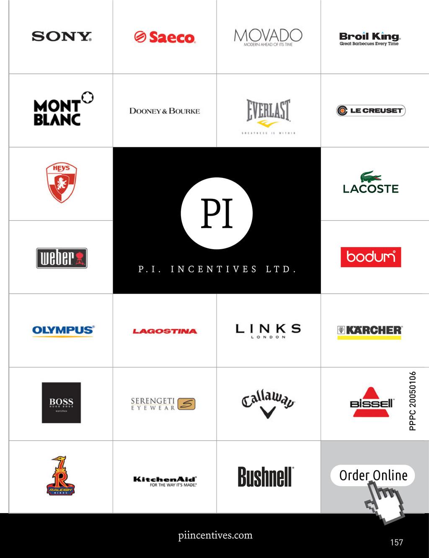 piincentives.com Order Online 157 PPPC 20050106