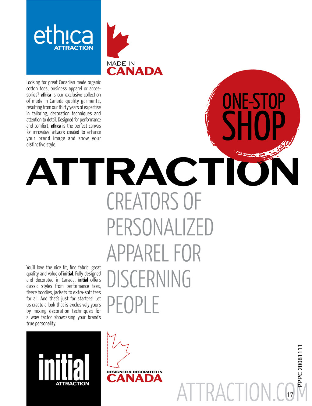 INITIAL LOGO ATTRACTION.COM Looking for great C...