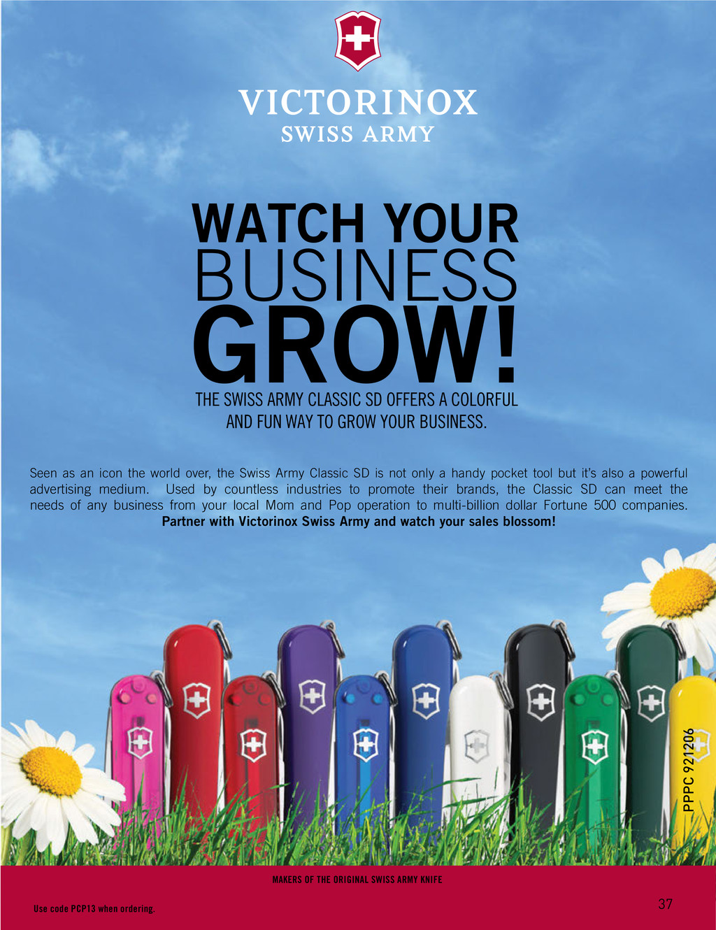 WATCH YOUR BUSINESS GROW! THE SWISS ARMY CLASSI...