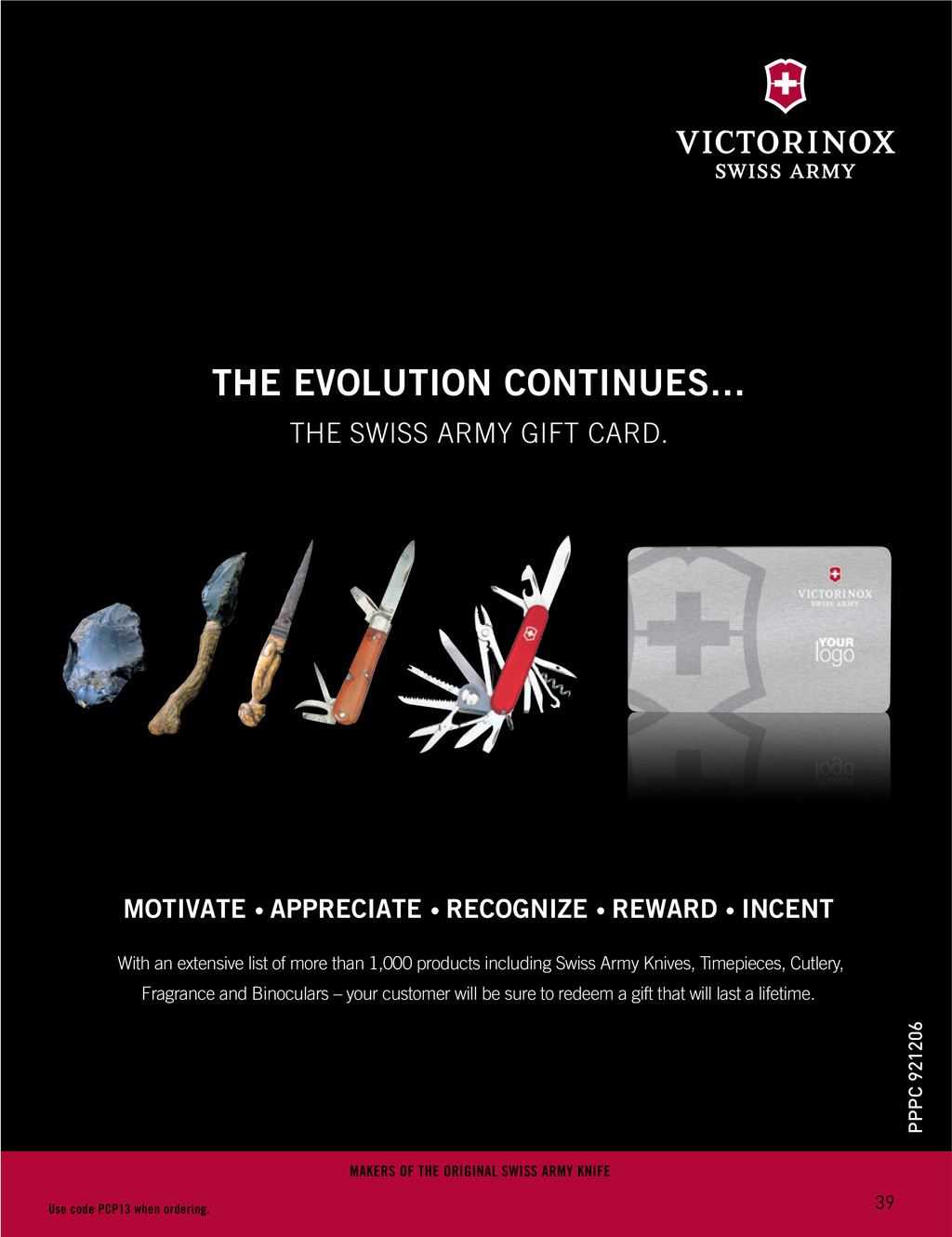 THE EVOLUTION CONTINUES… THE SWISS ARMY GIFT CA...