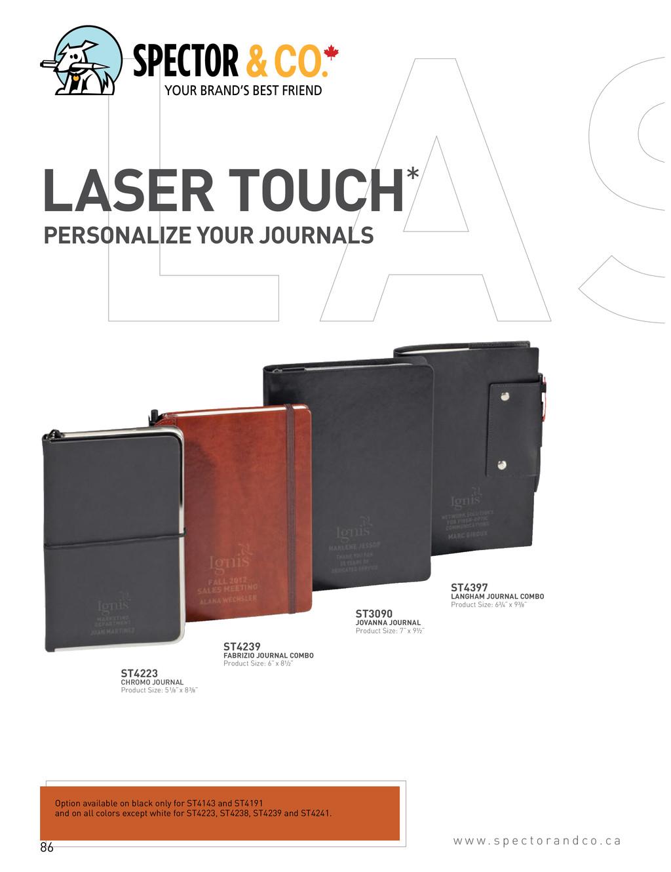 ST4397 LANGHAM JOURNAL COMBO Product Size: 63/4...