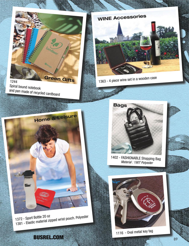 BUSREL.COM 1402 - FASHIONABLE Shopping Bag Mate...