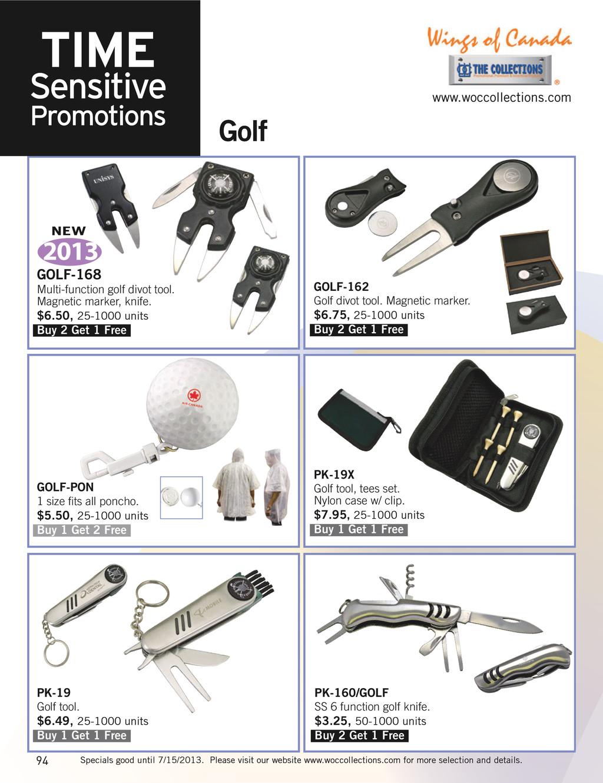 www.woccollections.com 2013 Golf GOLF-168 Multi...