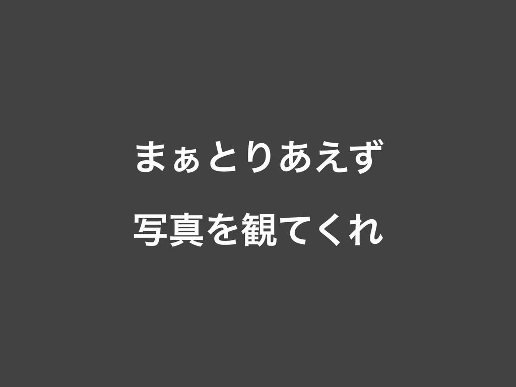 ·͊ͱΓ͋͑ͣ ࣸਅΛ؍ͯ͘Ε