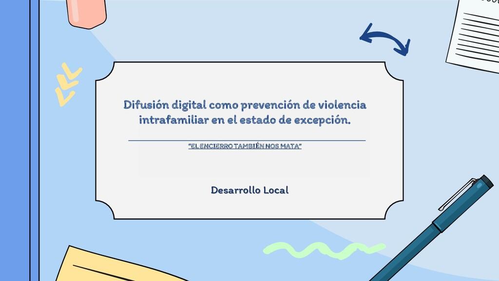 Difusión digital como prevención de violencia i...
