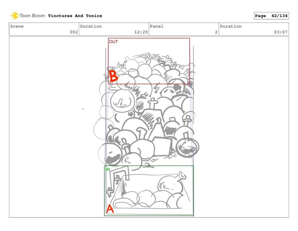 Scene 002 Duration 12:20 Panel 2 Duration 03:07...