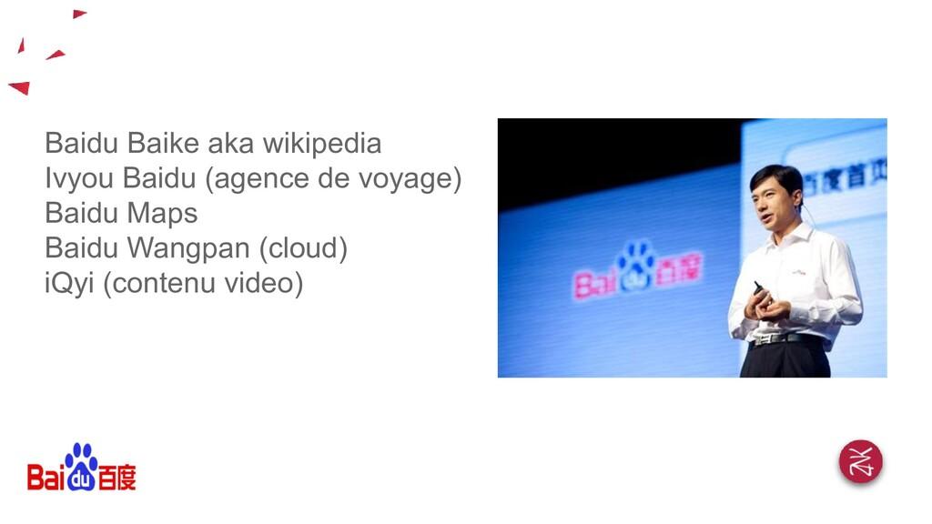 Baidu Baike aka wikipedia Ivyou Baidu (agence d...