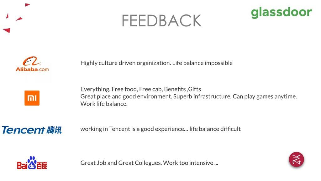 Highly culture driven organization. Life balanc...